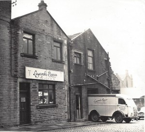 T.W. Laycocks first premises in Bradford